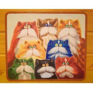 доска разделочная 8 котов